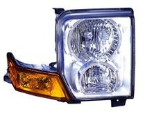 2006 - 2010 Jeep Commander Front Headlight Assembly Replacement Housing / Lens / Cover - Right (Passenger)
