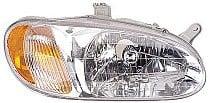 1998 - 2001 Kia Sephia Headlight Assembly - Right (Passenger)