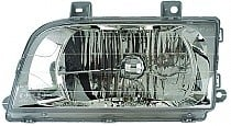 1998 - 2002 Kia Sportage Front Headlight Assembly Replacement Housing / Lens / Cover - Left (Driver)