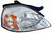 2003-2005 Kia Rio Headlight Assembly - Right (Passenger)
