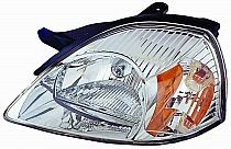 2003-2005 Kia Rio Headlight Assembly - Left (Driver)