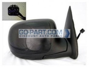 1999-2002 Chevrolet Chevy Silverado  Side View Mirror (Standard Style / Power Remote / Non-Heated) - Right (Passenger)