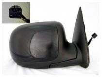 1999 - 2002 GMC Sierra Side View Mirror (Standard Style + Power Remote + Non-Heated) - Right (Passenger)