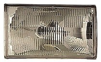 1990-1994 Lincoln Town Car Headlight Assembly - Right (Passenger)