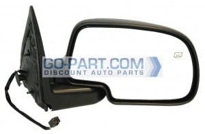 1999-2002 Chevrolet Chevy Silverado  Side View Mirror (Standard Style / Power Remote / Heated) - Right (Passenger)