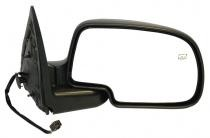 1999 - 2002 GMC Sierra Side View Mirror Replacement (Standard Style + Power Remote + Heated) - Right (Passenger)