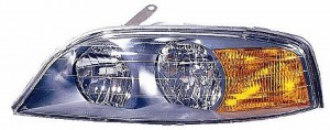 2000-2002 Lincoln LS Headlight Assembly - Left (Driver)