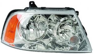 2003-2006 Lincoln Navigator Headlight Assembly (Halogen / OEM# 2L7Z 13008 AA) - Right (Passenger)
