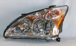 2007-2009 Lexus RX350 Headlight Assembly - Left (Driver)