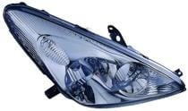 2004 Lexus ES330 Headlight Assembly (Halogen Lamps + without Bulbs or Sockets) - Right (Passenger)