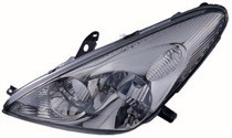 2002 - 2004 Lexus ES300 Headlight Assembly (Halogen Lamps + without Bulbs or Sockets) - Left (Driver)