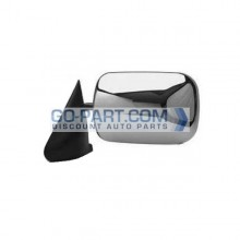 1994-1997 Dodge Ram Side View Mirror (Manual / Chrome) - Left (Driver)