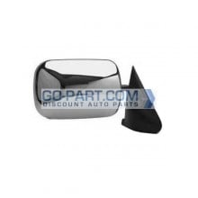 1994-1997 Dodge Ram Side View Mirror (Manual / Chrome) - Right (Passenger)