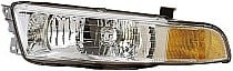 1999 - 2001 Mitsubishi Galant Front Headlight Assembly Replacement Housing / Lens / Cover - Left (Driver)