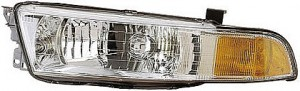 1999-2001 Mitsubishi Galant Headlight Assembly - Left (Driver)