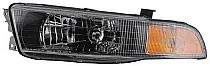 2002 - 2003 Mitsubishi Galant Headlight Assembly - Left (Driver)
