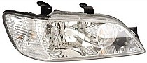2002 - 2003 Mitsubishi Lancer Front Headlight Assembly Replacement Housing / Lens / Cover - Right (Passenger)