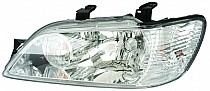 2002 - 2003 Mitsubishi Lancer Front Headlight Assembly Replacement Housing / Lens / Cover - Left (Driver)