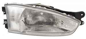 1997-2002 Mitsubishi Mirage Headlight Assembly (Coupe) - Right (Passenger)