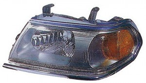 2000-2004 Mitsubishi Montero Sport Headlight Assembly (with Bright Bezel / from 3/00) - Left (Driver)