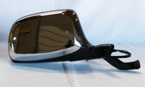 1992-1996 Ford Bronco Side View Mirror (Power Remote / Paddle Design / Non-Heated) - Right (Passenger)
