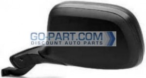 1992-1997 Ford F-Series Pickup Side View Mirror (Power Remote / Non-Heated / Paddle Design) - Left (Driver)