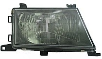 1997 - 1999 Mitsubishi Montero Sport Front Headlight Assembly Replacement Housing / Lens / Cover - Right (Passenger)