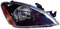 2004 - 2007 Mitsubishi Lancer Headlight Assembly (Excluding Evolution + Wagon + with ABS) - Right (Passenger)