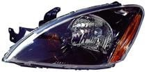 2004 - 2007 Mitsubishi Lancer Headlight Assembly (Excluding Evolution + Wagon + with ABS) - Left (Driver)