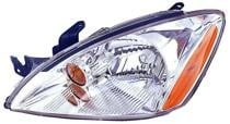 2004 - 2007 Mitsubishi Lancer Headlight Assembly (Excluding Evolution + Wagon + without ABS + Bright) - Left (Driver)