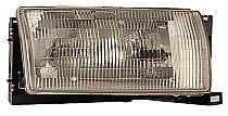 1993 - 1995 Nissan Quest Van Headlight Assembly - Right (Passenger)