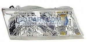 1998-2002 Mercury Grand Marquis Headlight Assembly - Right (Passenger)