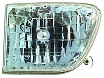 1998 - 2001 Mercury Mountaineer Front Headlight Assembly Replacement Housing / Lens / Cover - Right (Passenger)