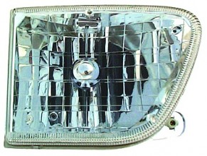1998-2001 Mercury Mountaineer Headlight Assembly - Right (Passenger)