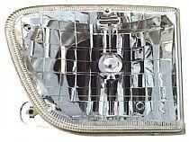 1998-2001 Mercury Mountaineer Headlight Assembly - Left (Driver)