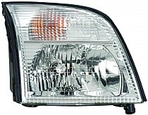 2002 - 2005 Mercury Mountaineer Front Headlight Assembly Replacement Housing / Lens / Cover - Right (Passenger)