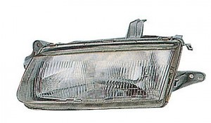 1995-1996 Mazda Protege Headlight Assembly - Left (Driver)