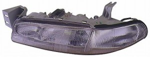 1993-1997 Mazda 626 Headlight Assembly - Right (Passenger)
