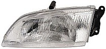 1998 - 1999 Mazda 626 Front Headlight Assembly Replacement Housing / Lens / Cover - Left (Driver)