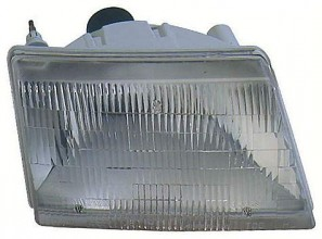 1998-2000 Mazda B2500 Headlight Assembly - Right (Passenger)