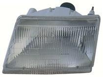 1998 - 2000 Mazda B2500 Front Headlight Assembly Replacement Housing / Lens / Cover - Left (Driver)