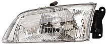 2000 - 2002 Mazda 626 Headlight Assembly - Left (Driver)