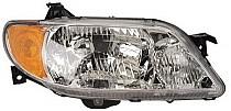 2001 - 2003 Mazda Protege Headlight Assembly (Sedan + with Aluminum Bezel) - Right (Passenger)