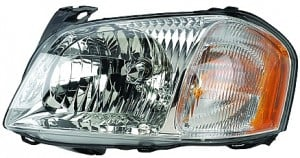 2001-2004 Mazda Tribute Headlight Assembly - Left (Driver)