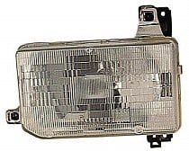 1987 - 1995 Nissan Pathfinder Front Headlight Assembly Replacement Housing / Lens / Cover - Left (Driver)