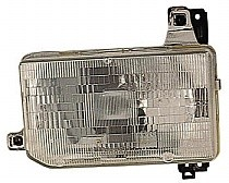 1986-1989 Nissan Pickup Headlight Assembly - Left (Driver)