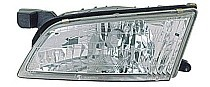 1998 - 1999 Nissan Altima Front Headlight Assembly Replacement Housing / Lens / Cover - Left (Driver)