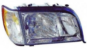1995-1999 Mercedes Benz S420 Headlight Assembly - Right (Passenger)
