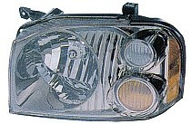 2001 - 2004 Nissan Frontier Headlight Assembly (SE/SC) - Left (Driver)