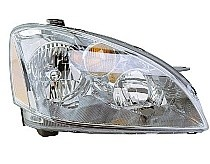 2002-2004 Nissan Altima Headlight Assembly (Includes Park/Signal Lamps / Halogen) - Right (Passenger)